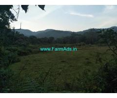1.5 Acre plain agriculture land for sale in Mudigere
