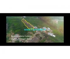 1 acre Land for sale in Ooty location. On Ooty to kotagiri main road