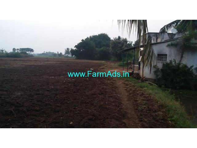 1.72 acer punjai land with house for sale at Maduranthakam