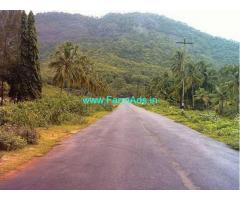 20 cents square plot for sale at poothadi kenichira road