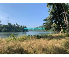 3000 m2 River Touch plot for sale at Satarda