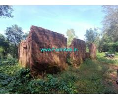 2.25 Acres Farm Land with under construction house for sale at Ajekar