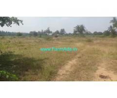 40 Acres Dry Farm Land for Sale 50kms from Bangalore