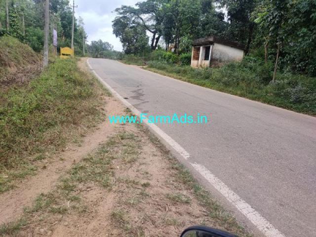 4 Acre Plain land for sale in Sakleshpur,Shukravarasanthe road