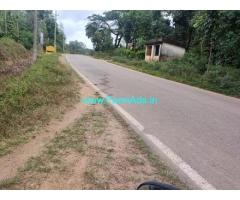 4 Acre Plain land for sale in Sakleshpur,Shukravarasanthe road