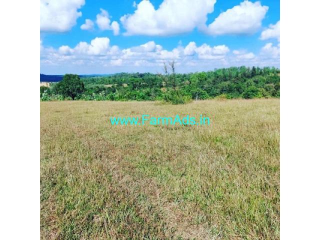 10 acre plain land for sale in Sakleshpur