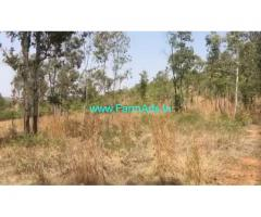 4 Acres Hill view farm land for sale in Doddaballapur,54km from Bangalore