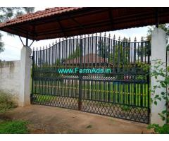 5.33 Acres Farm House and land for sale Near Bangalore