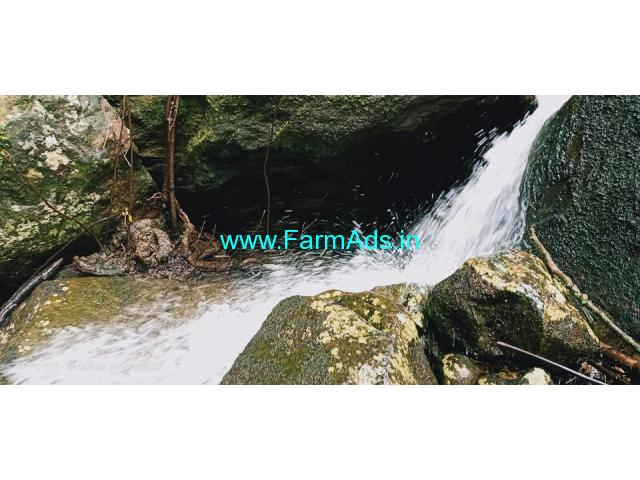 40 acres Water falls Organic agriculture land sale in kodaikanal