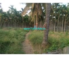 7.5 acers farm land Well developed & maintained for sale at Maddur.