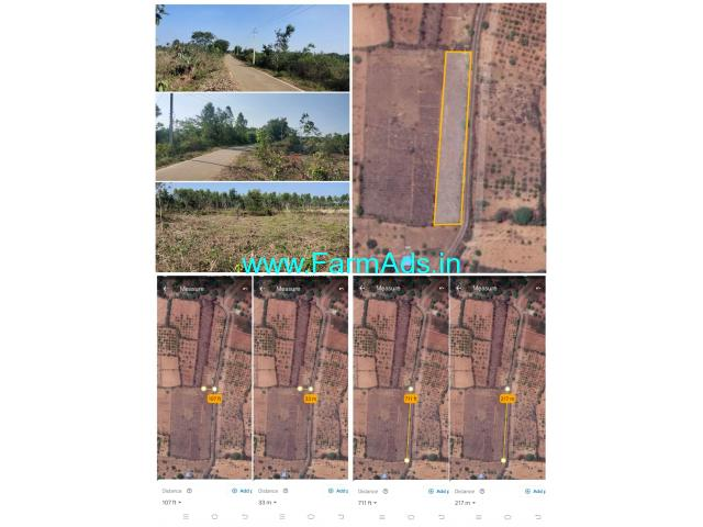 1 acre 33 guntas land for sale Srinivaspur-Mulbagal Road