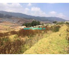 50 Cents agriculture land for sale in Kotagiri