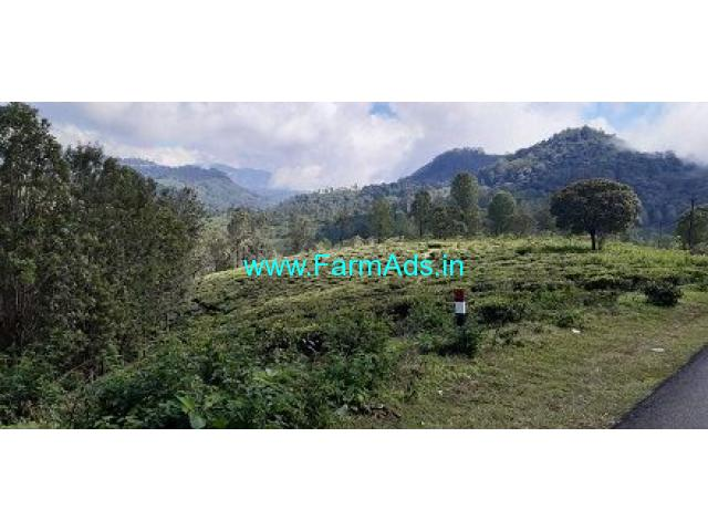 2.50 Acres farm land for sale in Coonoor 20 kms from coonoor town