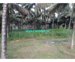 2.5 acre road based coconut farm land at Mannur,  Pollachi west area