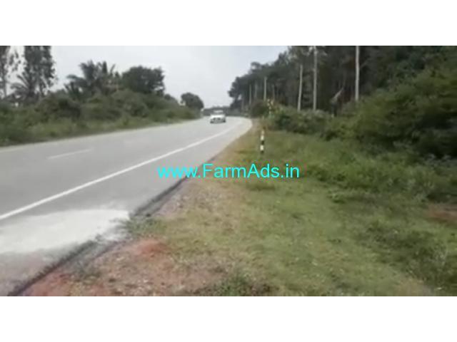NH Road attached 17 acre coconut farm for sale near Mysore,calicut NH road
