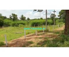 0.35 Gunta Farm Land For sale In Nanjangud Chamarajanagar road