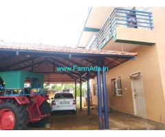 18 Acre high yielding pomegranate plantation Farm house Sale near Sira