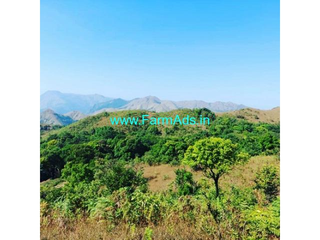 30 acre neglected Cardamom plantation for sale in Chikmagalur