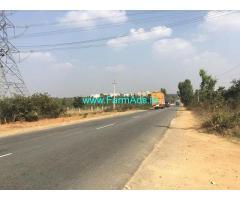 1 acre 20 guntas prime property for sale at Doddballapur