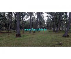 2.50 Acres Coconut Farm with Farm House Sale at Aanamalai