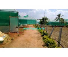 5 Acres Farm Land with Farm house Sale near old Madhgiri Road
