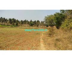 3 Acre Plain land sale for Sale near Kanakapura,70km from Bangalore