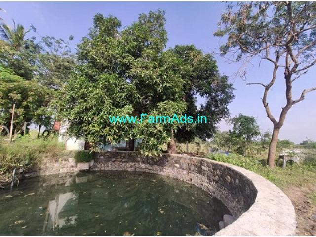 20 Acres Organic farm land with Farm House sale at Avanipur