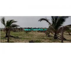 Beach View 24.5 Acre Farm Land Sale In ECR road