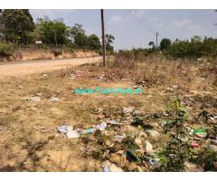 1 Acre land for sale in Hassan Sakleshpur highway