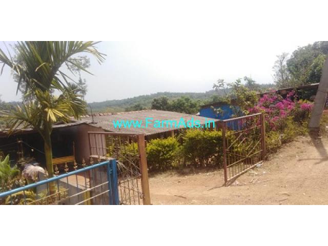 3 guntas land with house sale in Mudigere Belur highway