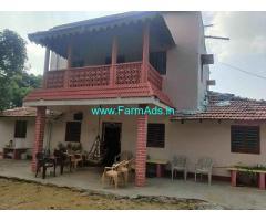 20 Acres Alphonso Mango Farm with Farm house sale near Channapatna