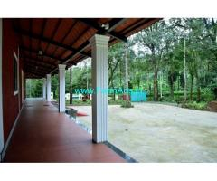 141 cent Coffee plantation land and home stay for sale in Coorg