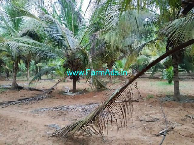 1 Acre Coconut farm land for Sale near South Pollachi