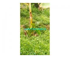 1.75 acres riverside land for sale at Attappadi