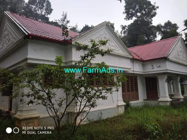 7 Acre Farm land with Farm House for Sale at Idukki