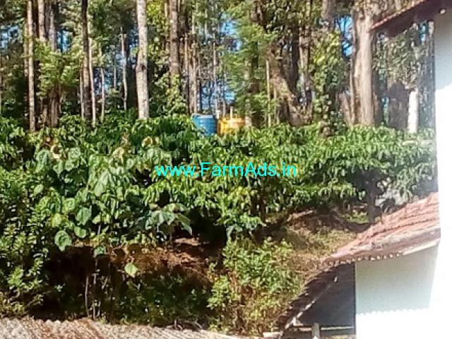 2.5 Acres Farm House For Sale In Mudigere