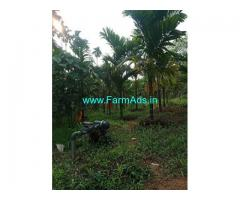 7 Acres Areca Farm Land for sale 18km from Puttur
