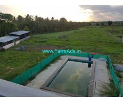 Agriculture land 2.5 acres for sale near Kunigal