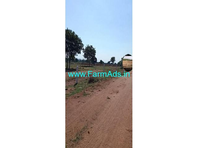 1.15 guntas Farm land  for sale near Komuravelli kaman