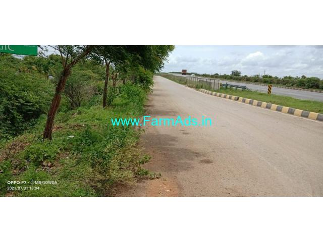 5.05 Acres NH 4 Attached land for sale near Hiriyur
