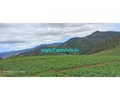 6 acres Farm land for Sale located on the highest peak in Kodaikanal