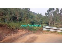 2.6 acres of agriculture land for sale in Ooty