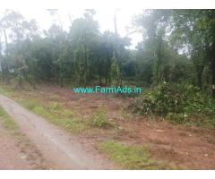 1.20 acre plain land sale in Mudigere