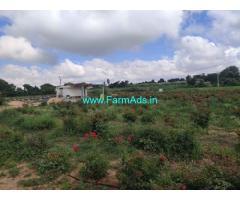 Land extent 3 acres for Sale near Sidlaghatta