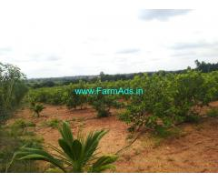 6.30 Acre developed Farmland sale near koratagere