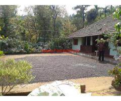 4.7 Acre Farm land with Farm House for sale in Wayanad - Vythiri
