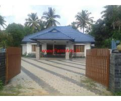 Acre plantation with farm house and homestay for sale for 3000 sq ft house cost