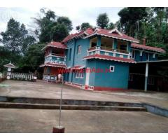 1.10 Acre Plantation with Farm House and Homestay for sale