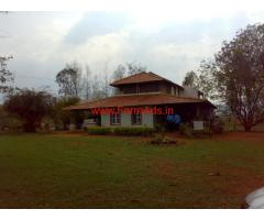 30 Acres beautiful farm house for saleat Bandipur