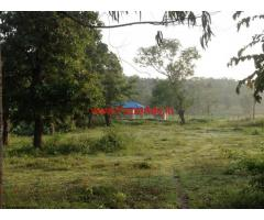 6 Acre Farm Land with farm house for sale in Somwarpete - Coorg